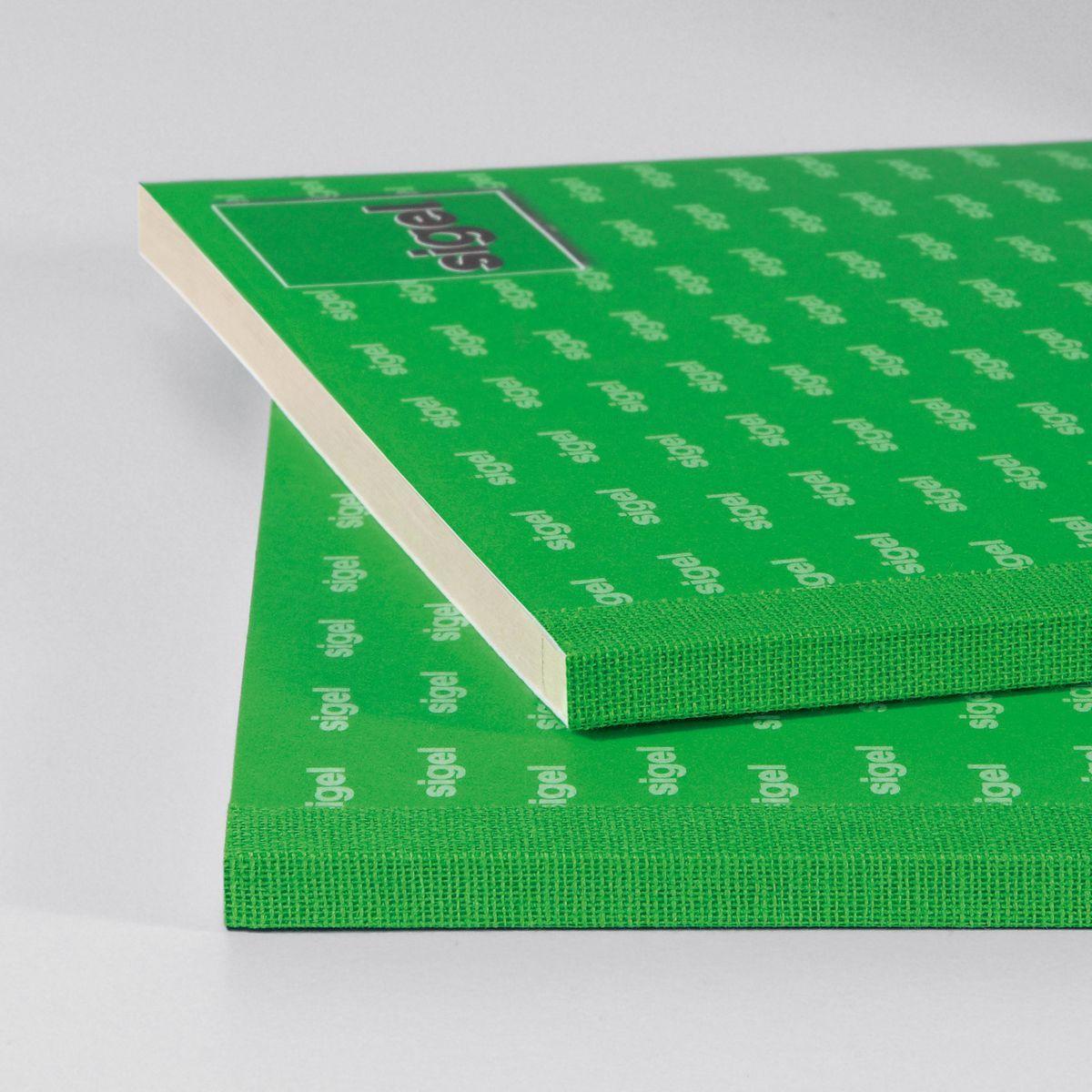 Avery Zweckform Formularbuch Einnahmebeleg grün A6 quer 50 Blatt Nachweis Belege
