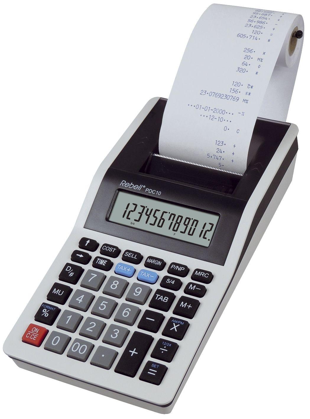 CASIO Tischrechner MS 120 TER II BK Solar-// Batteriebetrieb