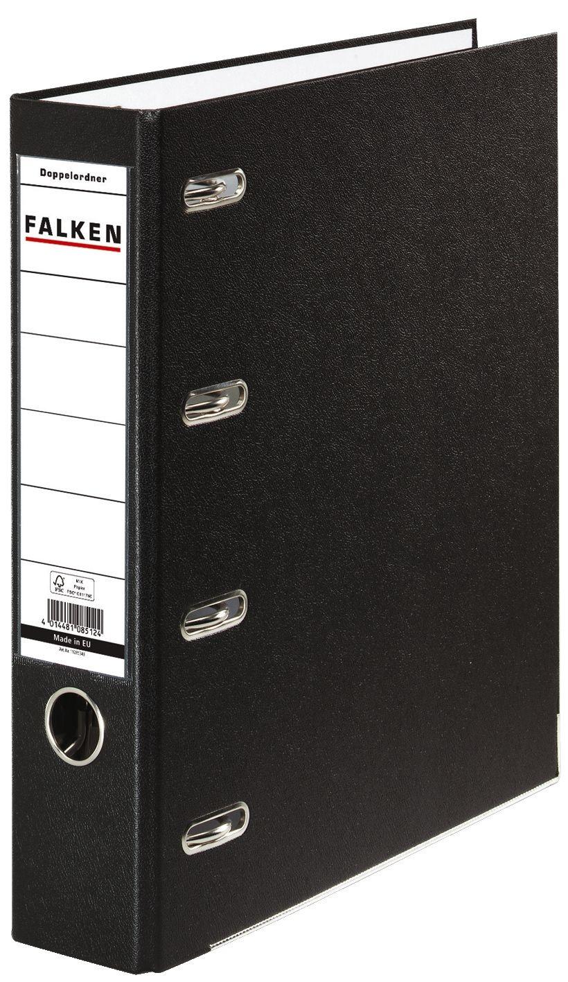 75mm schwarz 220110 2 x A5 quer 2 x Centra Doppelordner A4