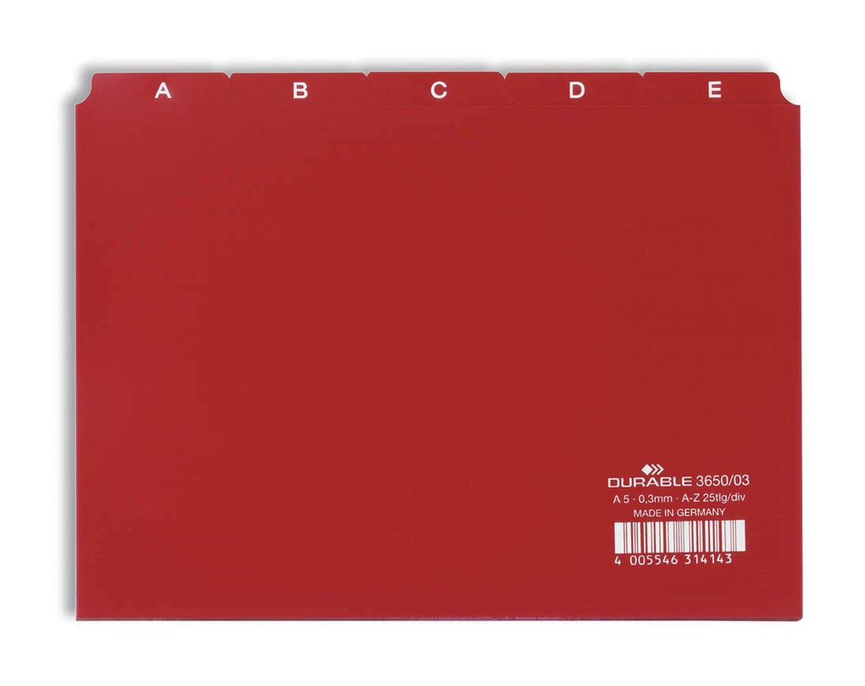 Z für Größe A5 quer blau Pagna® Kartei-Leitregister A