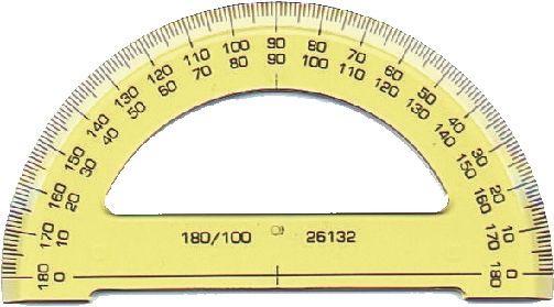 KOH-I-NOOR 746168 Winkelmesser 180° (Halb) (Schreibwaren)