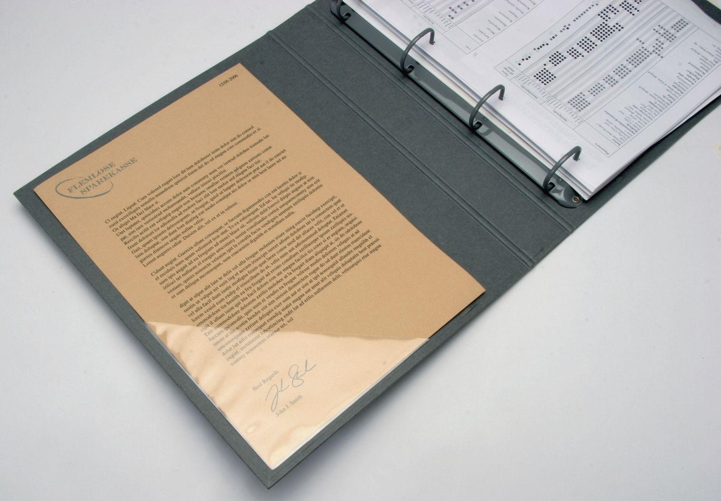 Q-Connect Dokumententaschen 10,5 x 14,8 cm A6 10 St.