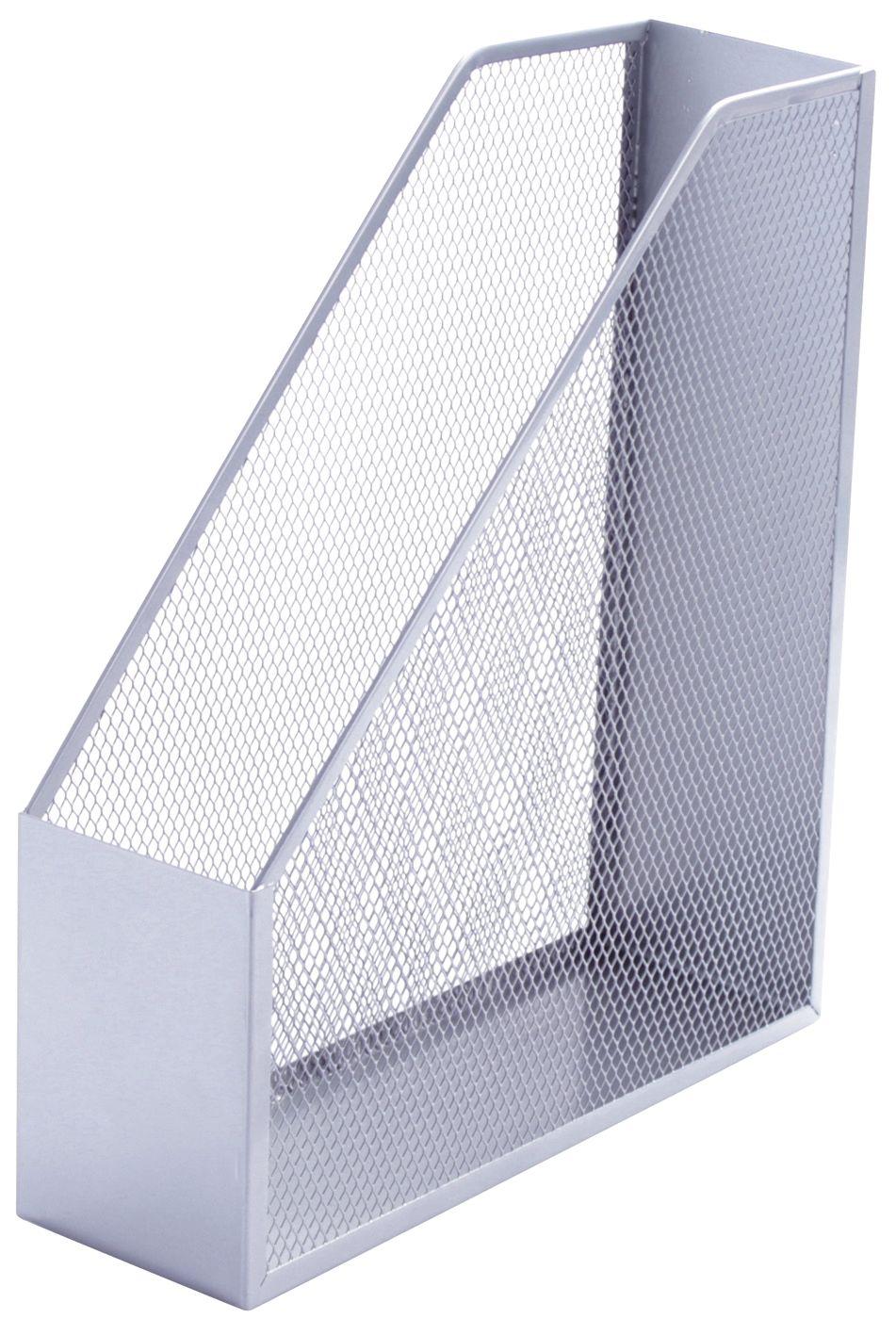 Stehsammler quer  Q-CONNECT Stehsammler Metall silber (Ordnen)