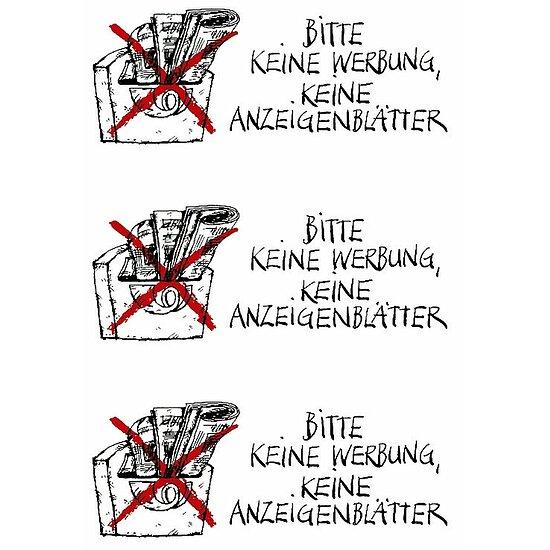 """4 Packungen Hinweisetiketten /"""" Kein Handy /"""" wetterfest HERMA Vario 5784"""