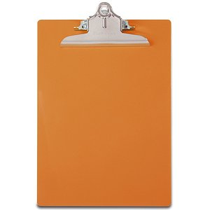 Saunders 21659 Klemmbrett Safety neonorange