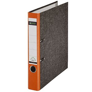 LEITZ Ordner Pappe A4 5,2cm orange