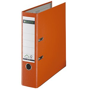 LEITZ Ordner Plastik A4 8cm orange