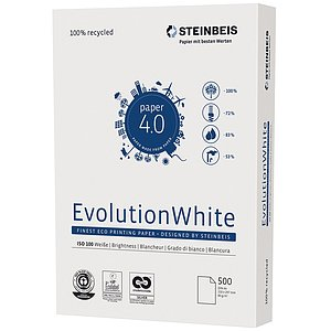 Steinbeis 5219 080 10 00 1 Evolution white - A4, 80g, 500 Blatt