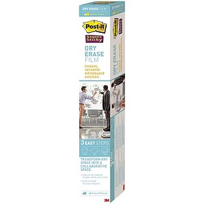 Post-it® DEF3x2EU Dry Erase Schreibfolie - 60,9 x 91,4 cm