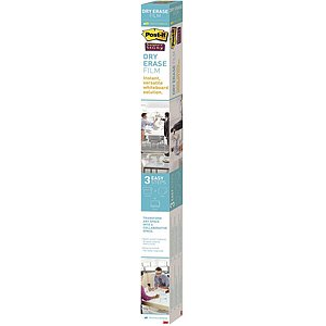 Post-it® DEF8x4-EU Dry Erase Schreibfolie - 121,9 x 243,8 cm