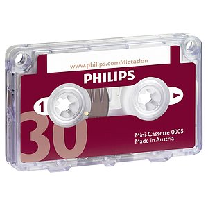 Philips LFH0005/60 Mini-Kassette (DIN) 0005 (2x15 Min.)