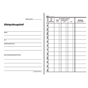 RNK Unterweisungsbuch Unfallverhütung Unterweisung weiß A5 quer 48 Seiten Buch