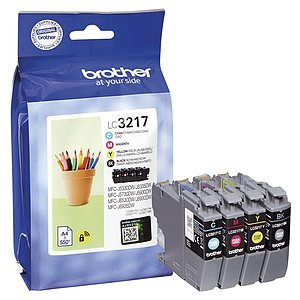 Brother® LC3217VALDR Brother® Multipack Inkjet - LC3217 VALDR