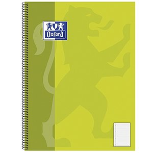 Oxford 384408027 Collegeblock Oxford Schule, Optik Paper 90 g/qm, A4+, 9mm liniert, 80 Blatt