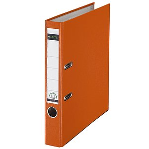 LEITZ Ordner Plastik A4 5cm orange