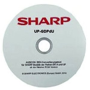 SHARP XE-AGDPDU Software-konvertierungstool für Sharp-Kassen - GoBD-/GDPdU-Software