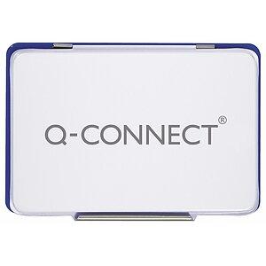 Stempelkissen Blau Getränkt Q-Connect