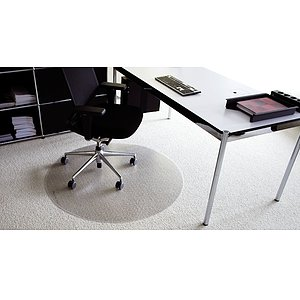 RS OFFICE PRODUCTS Bodenschutzmatte Ø 90cm